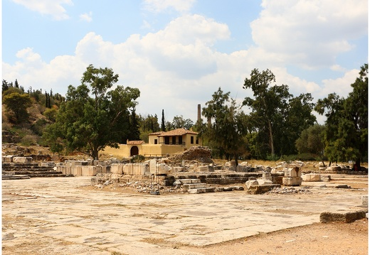 Elefsina, site antique d'Eleusis #01