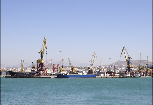 Heraklion, port industriel #24