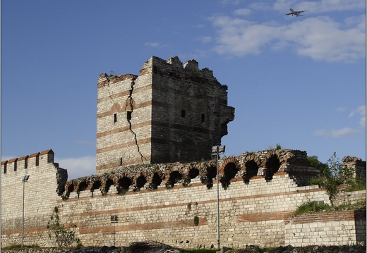 Istanbul, remparts byzantins #08