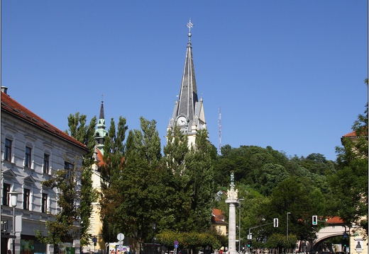 Ljubljana,  église Saint. Jacob #01